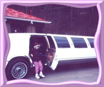 Noela getting out of Limo